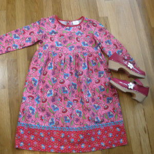 Hanna Andersson Dress & Clogs